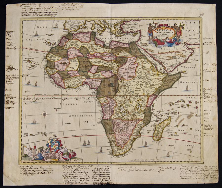 Visscher  Africae accurata tabula ex officina