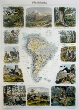 Brockhaus  Südamerika