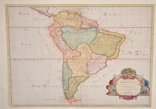 Sanson  Amerique meridionale