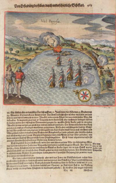 Bry, de  Von Erfindung derselben durch underschiedliche Schiffart / Val Parysa
