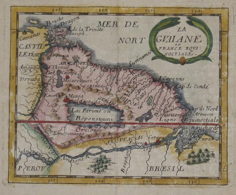 Val, du Pierre La Guiane ou France equinoctiale