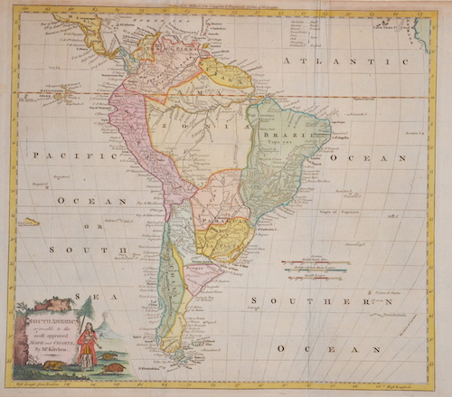 Kitchin (Kitchen)  South America agreeable to the most approved Maps and Charts