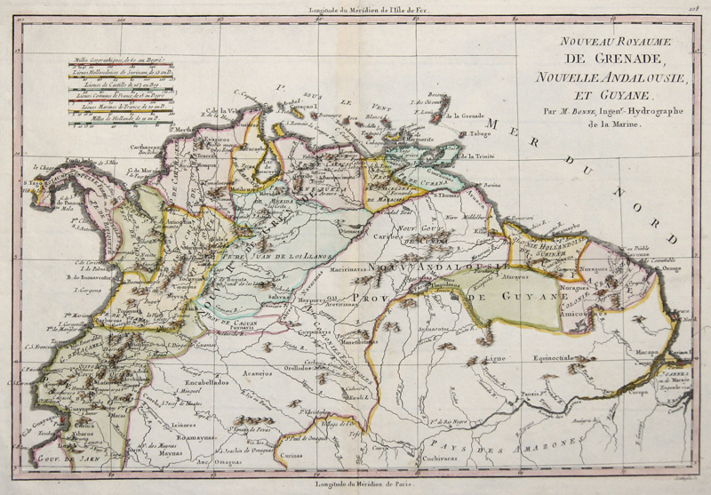 Bonne Rigobert Nouveau Royaume de Grenade Nouvelle Andalousie et Guyane