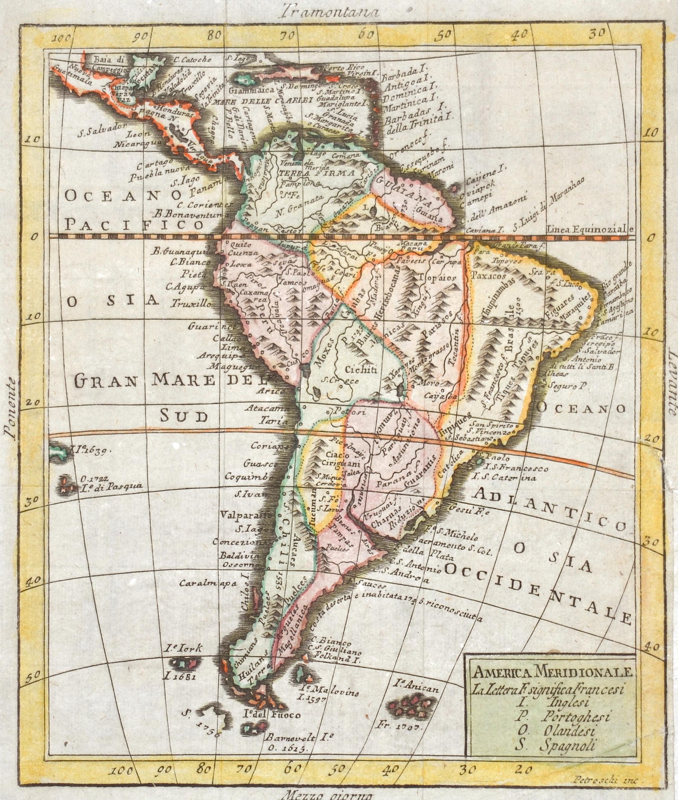 Petroschi  America Meridionale