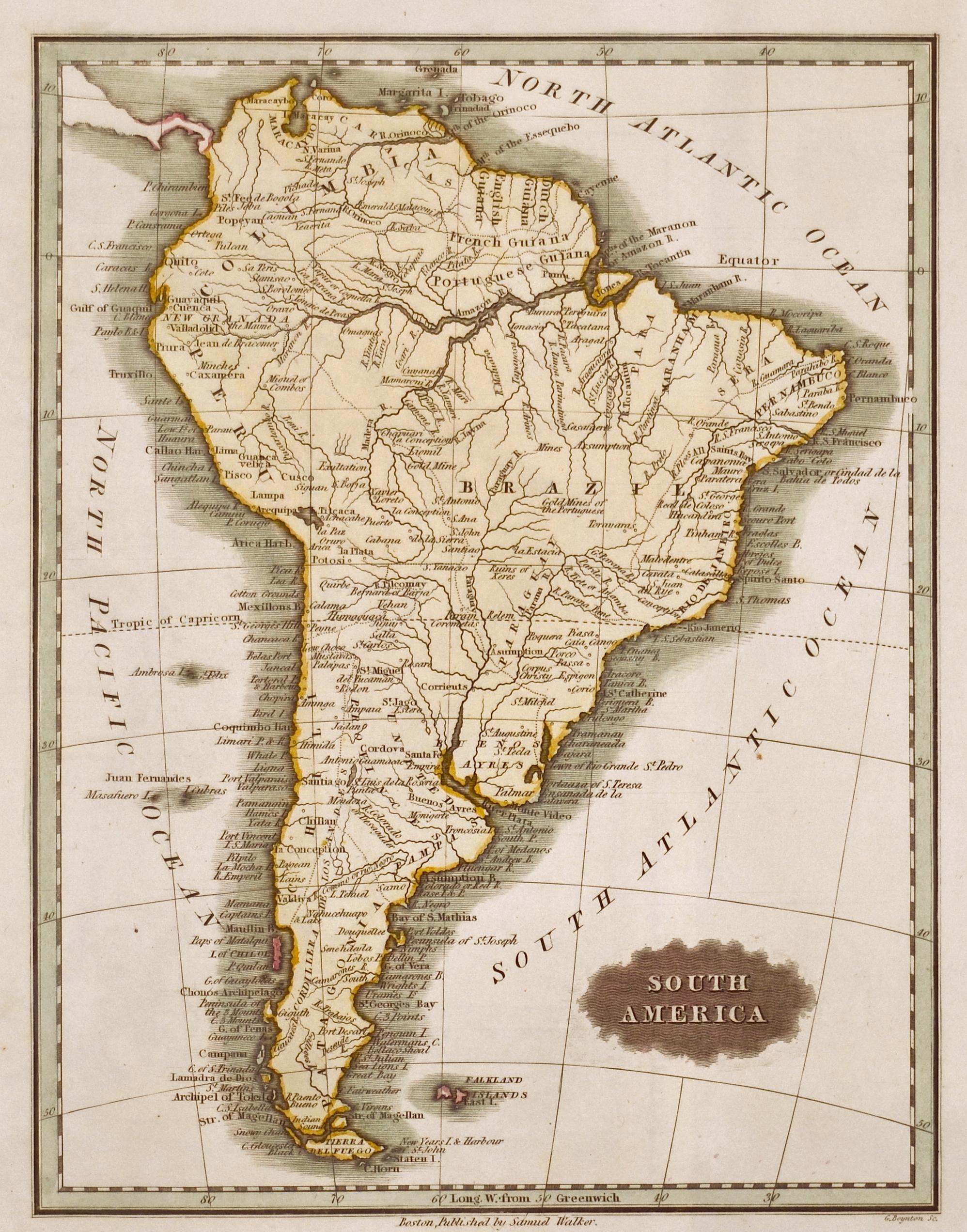 Walker Samuel South America