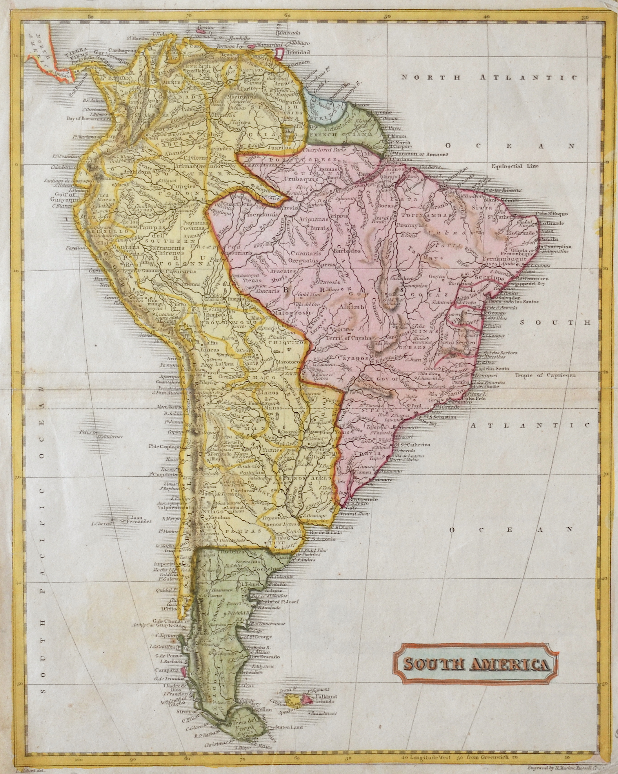 Mutlow  South America