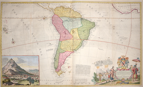 Moll  Map of South America