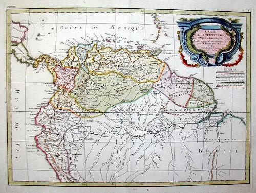 Bonne Rigobert Carte de la Terre Ferme…