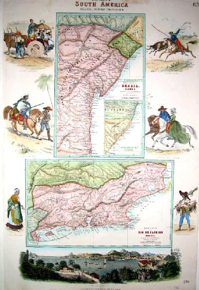 Swanston  South America Brazil, middle provinces