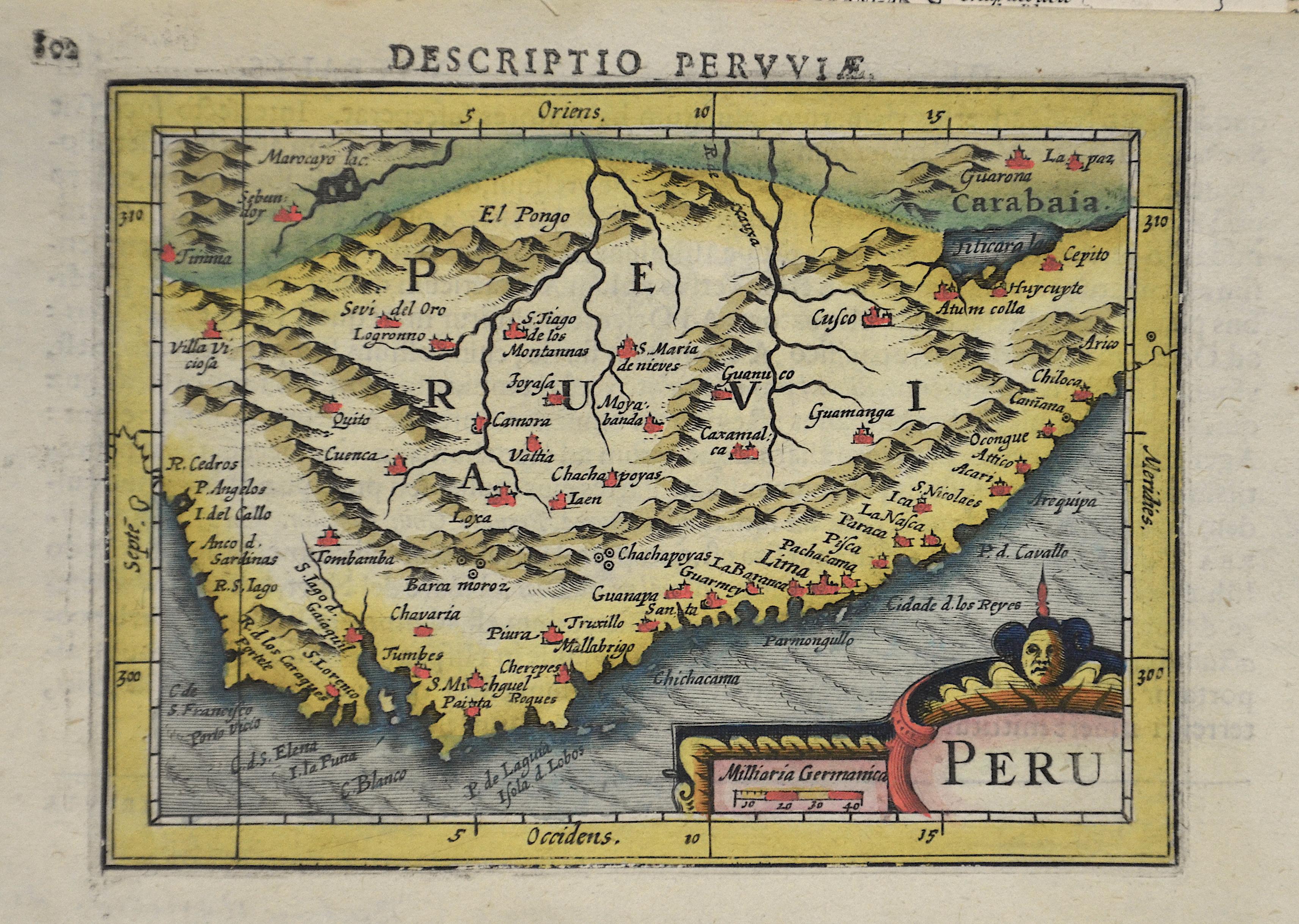 Bertius  Peru