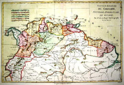 Bonne  Nouveau Royaume de Grenade Nouvelle Andalousie et Guyane