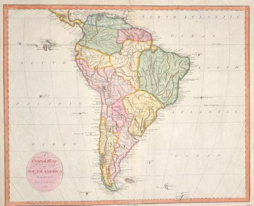 Reid  A general map of South America from the Best Surveys