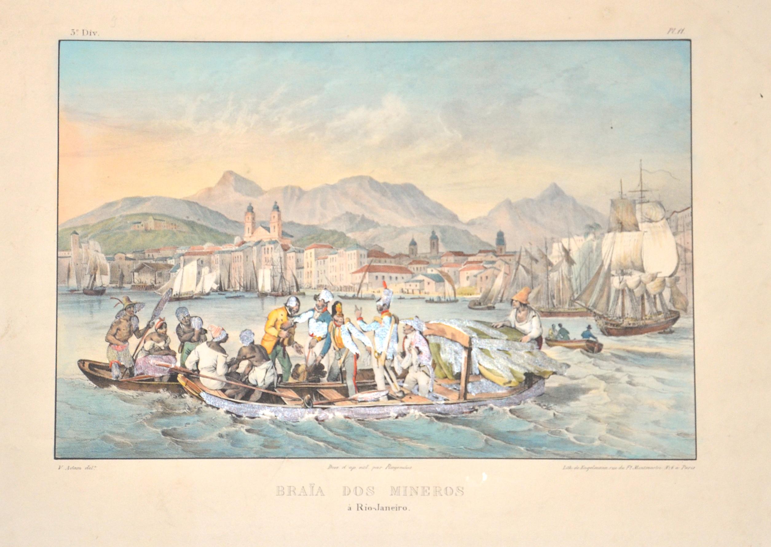 Engelmann  Braia dos mineros a Rio- Janeiro