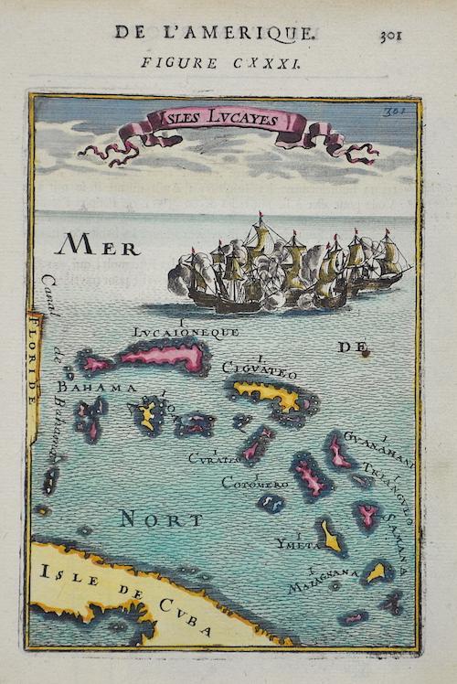 Mallet  Die Lucayischen Inseln