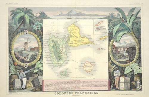 Lemercier / Levasseur  Colonie Francaise