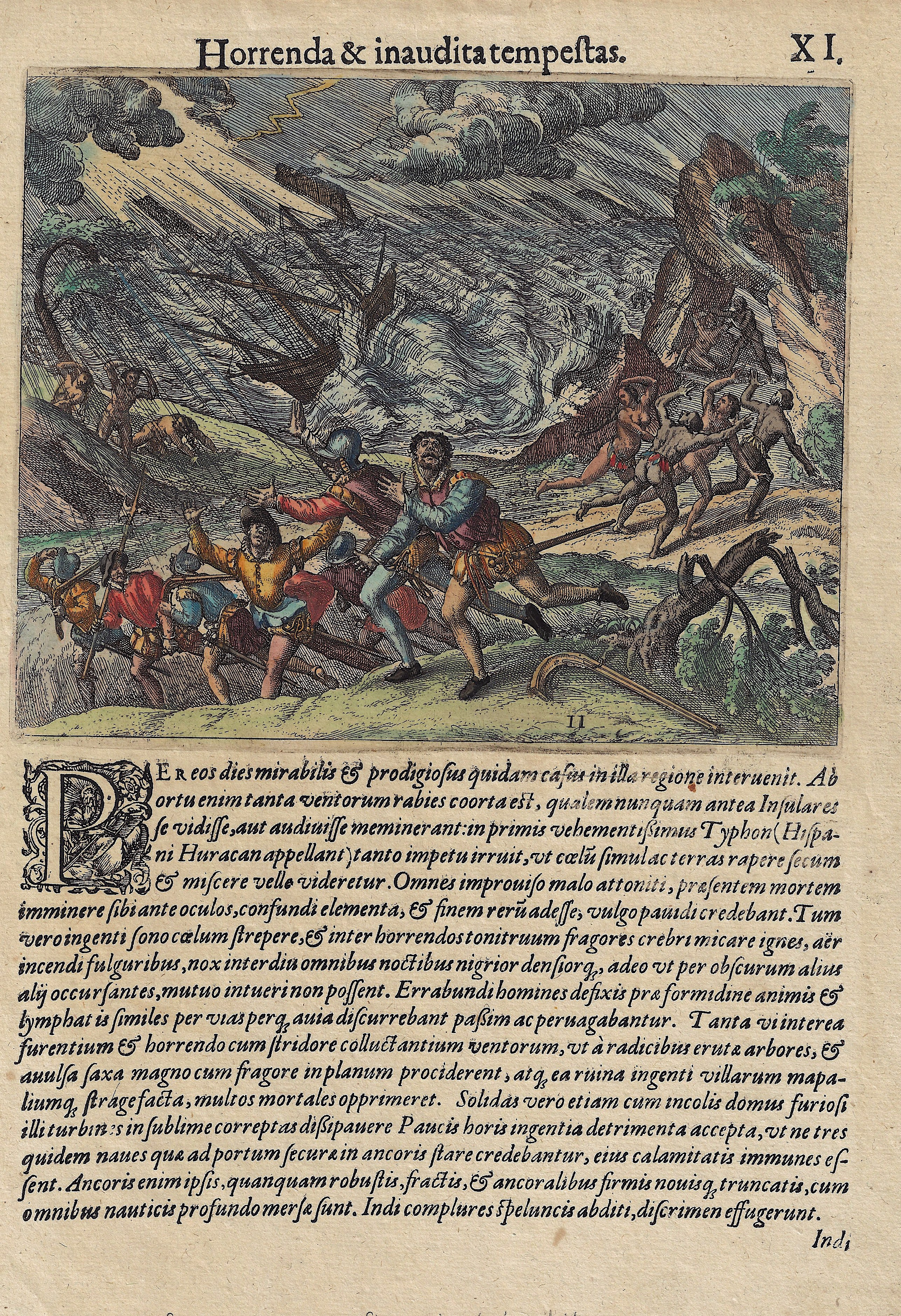 Bry, de Theodor, Dietrich Horrenda & inaudita tempestas.
