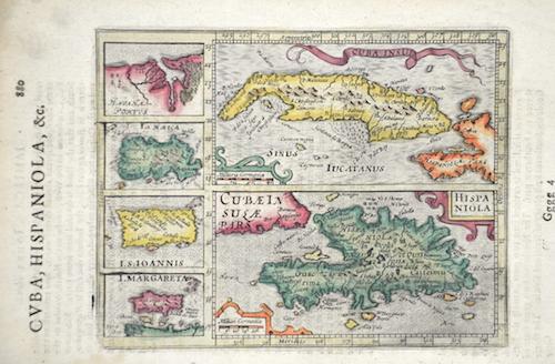 Hondius Hendrik Hispaniola