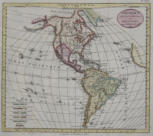 Herisson G. Amerique Septentrionale et Meridionale