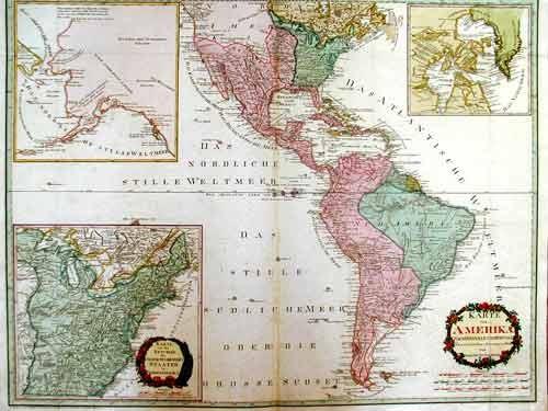 Reilly Franz Johann Joseph Karte von Amerika
