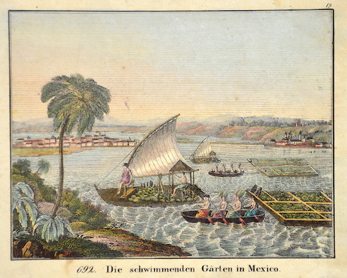 Droesse  Die schwimmenden Gärten in Mexico