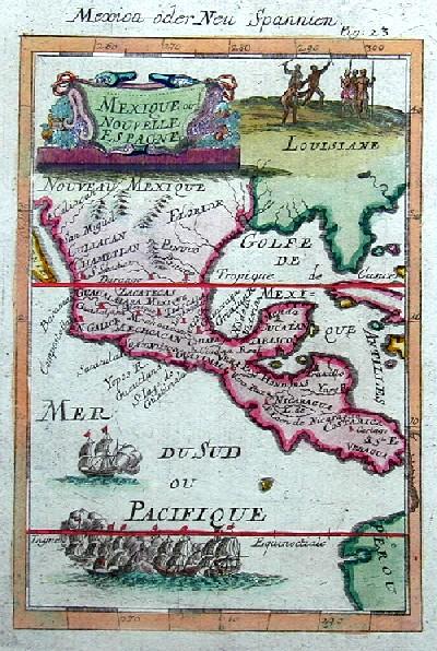 Mallet  Mexica oder Neu Spannien