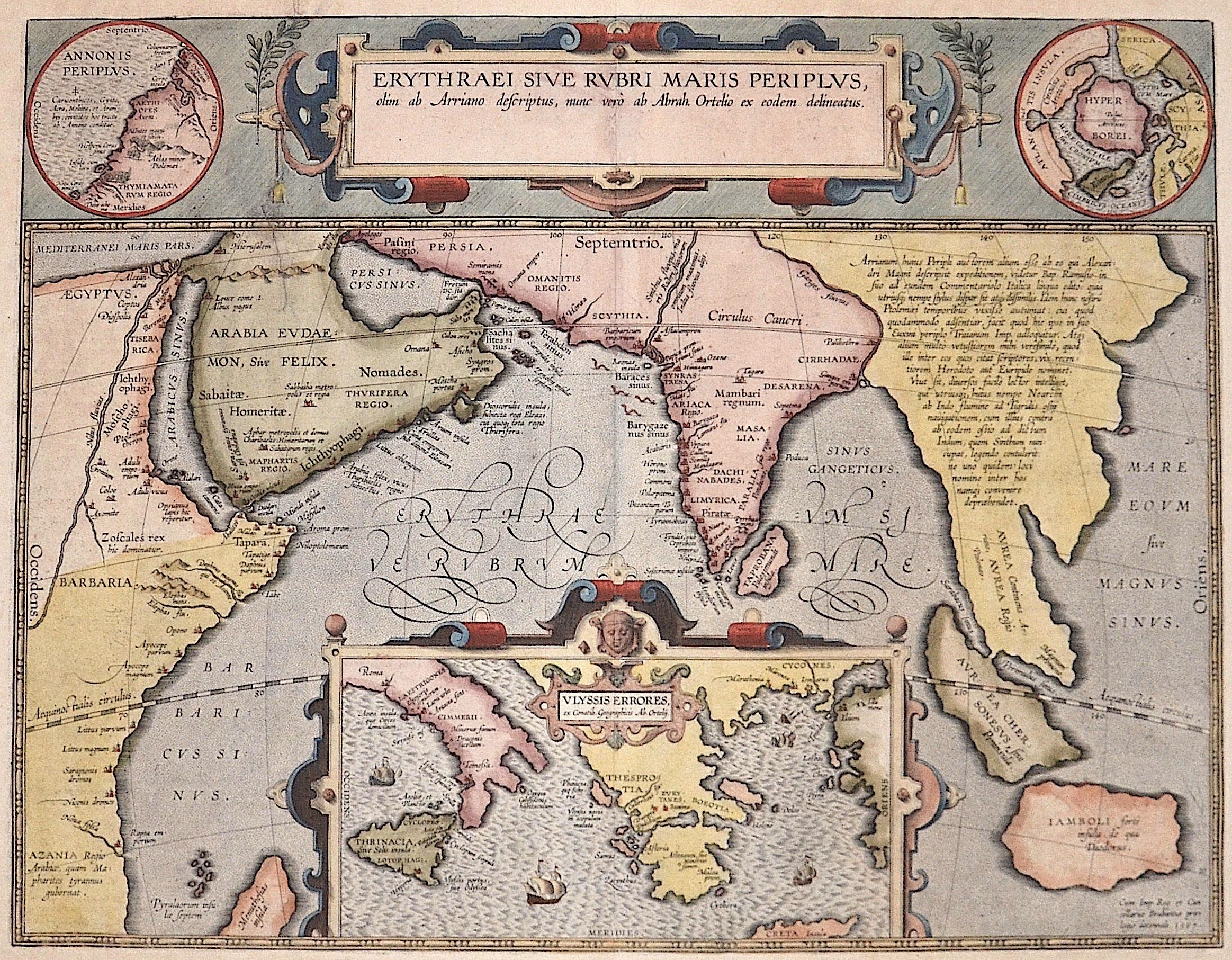 Ortelius  Erythraei sive Rubri Maris Periplus…