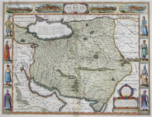 Speed John The Kingdom of Persia with the cheef Citties and Habites described.