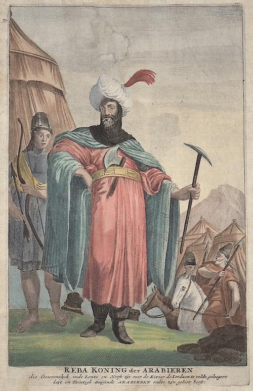 Anonymus  Reba Koning der Arabieren