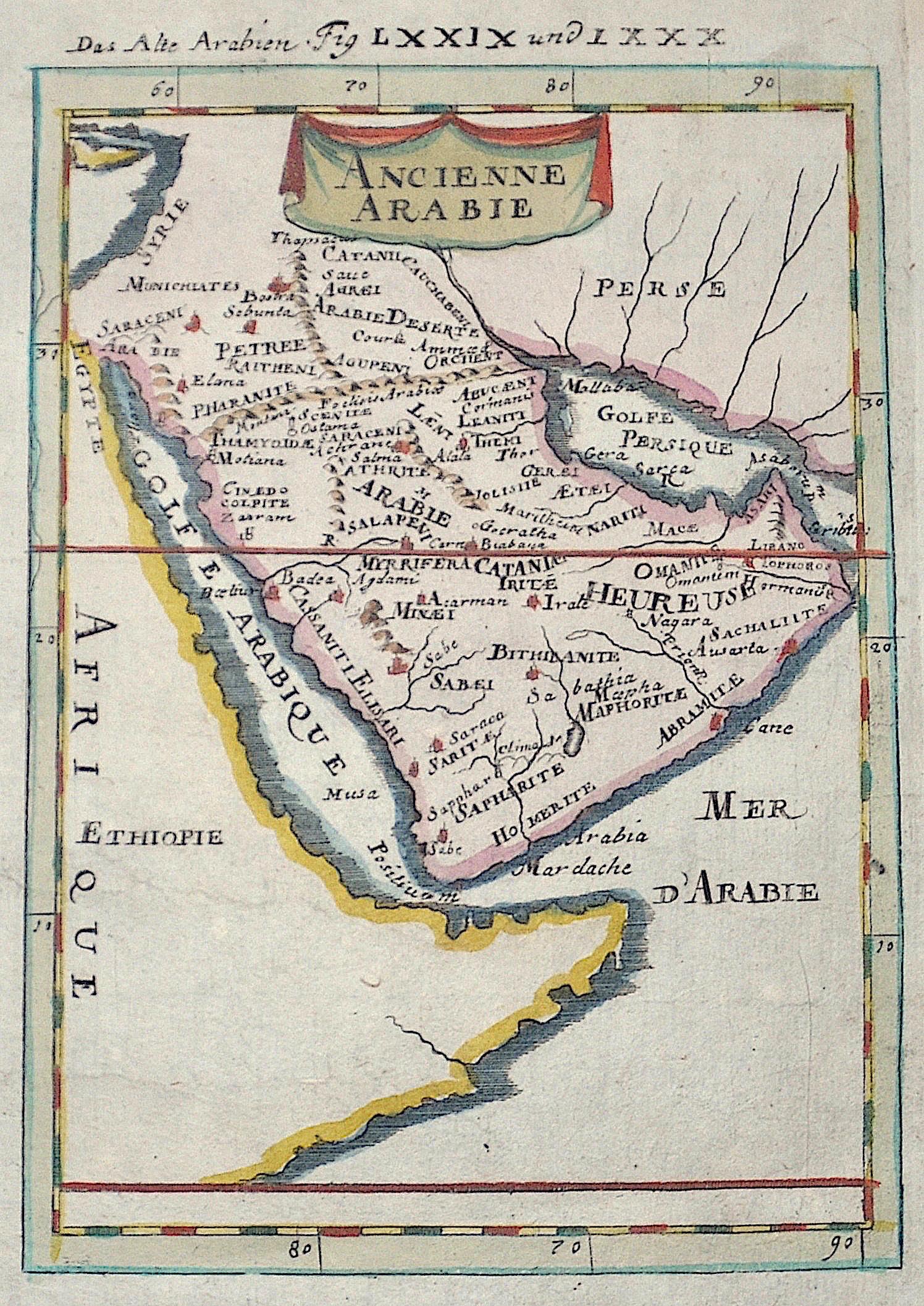 Mallet  Das Alte Arabien Fig LXXIX und LXXX /Ancienne Arabie
