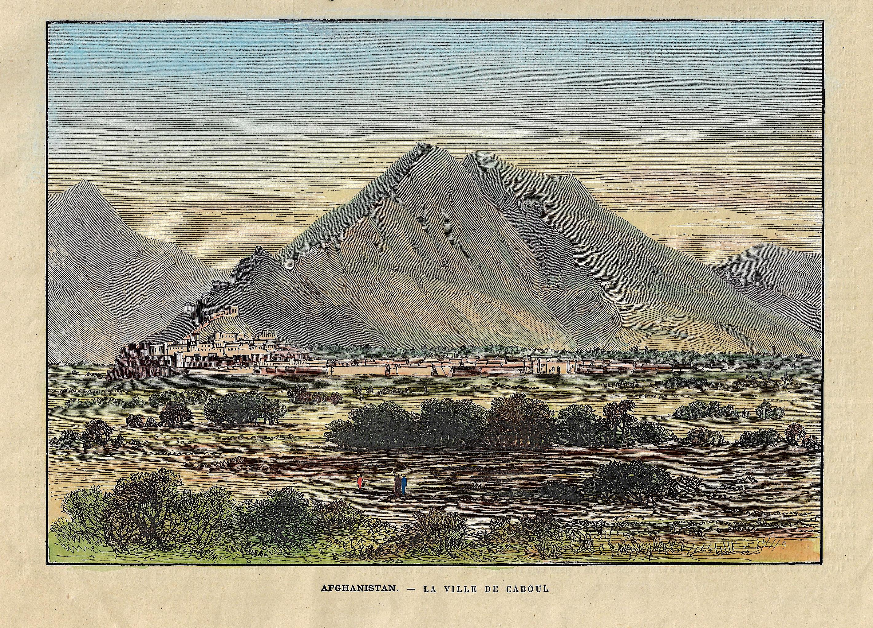 Anonymus  Afghanistan. – La Ville de Caboul