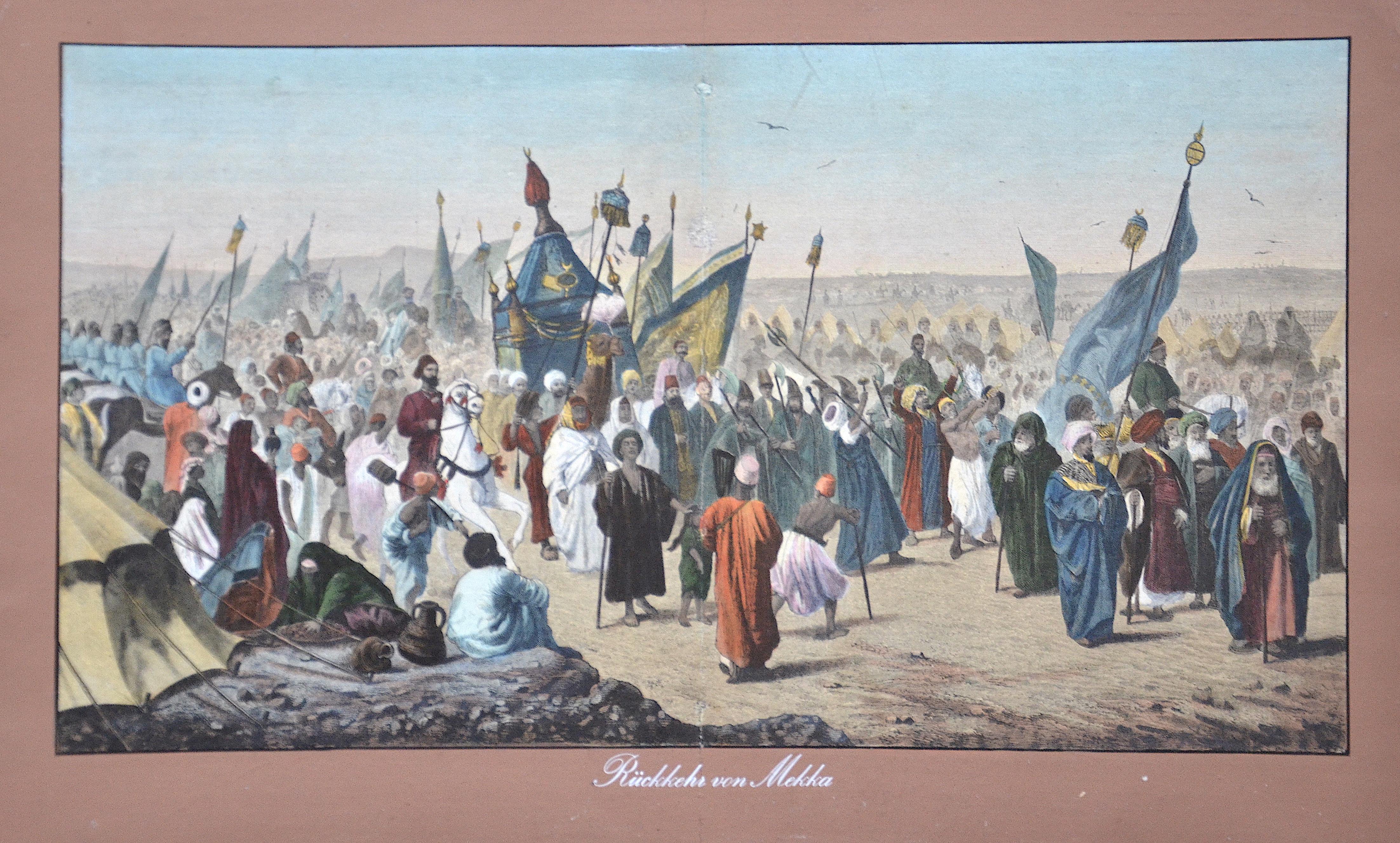 Anonymus  Rückkehr von Mekka