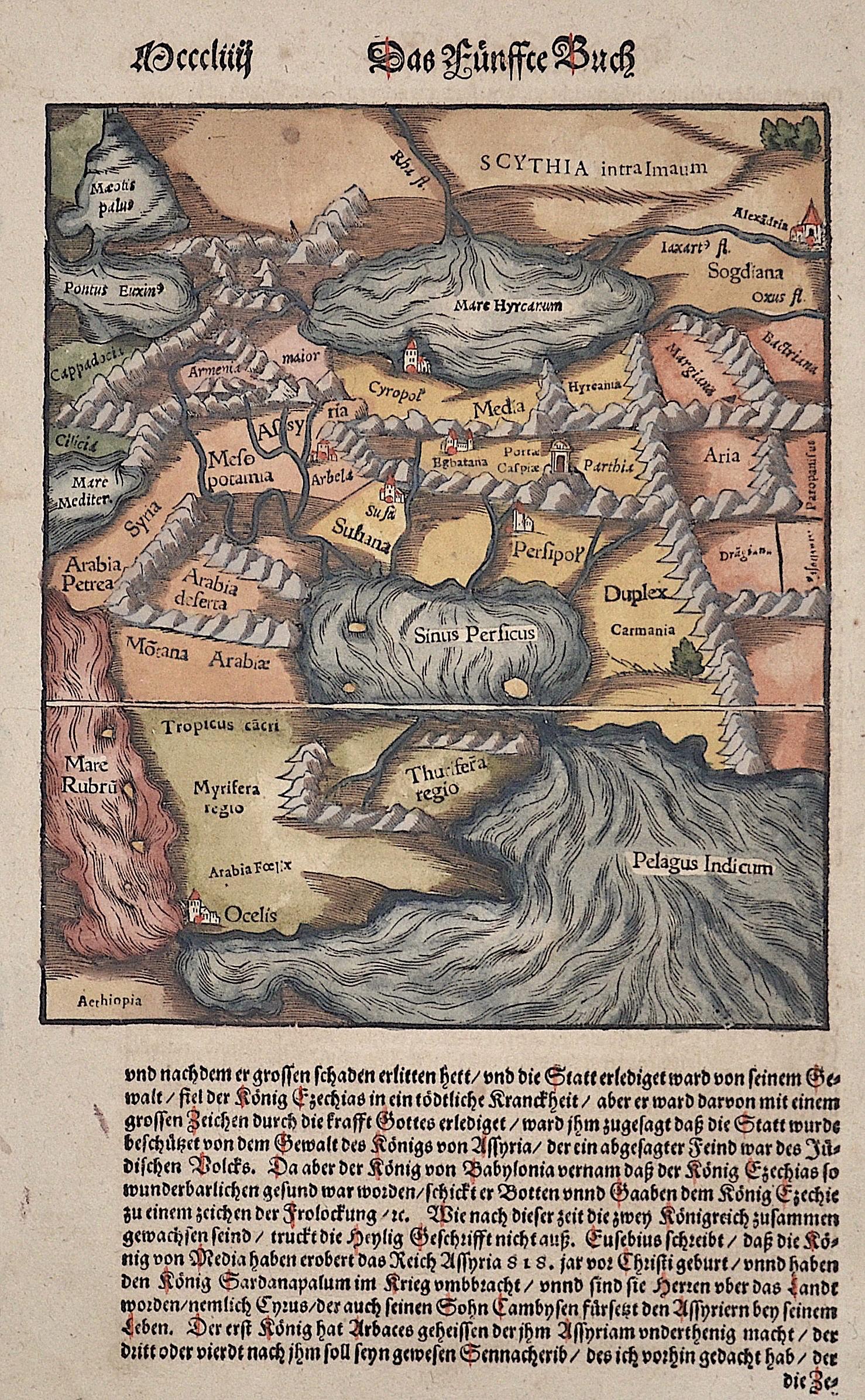 Münster  Das Fünffte Buch