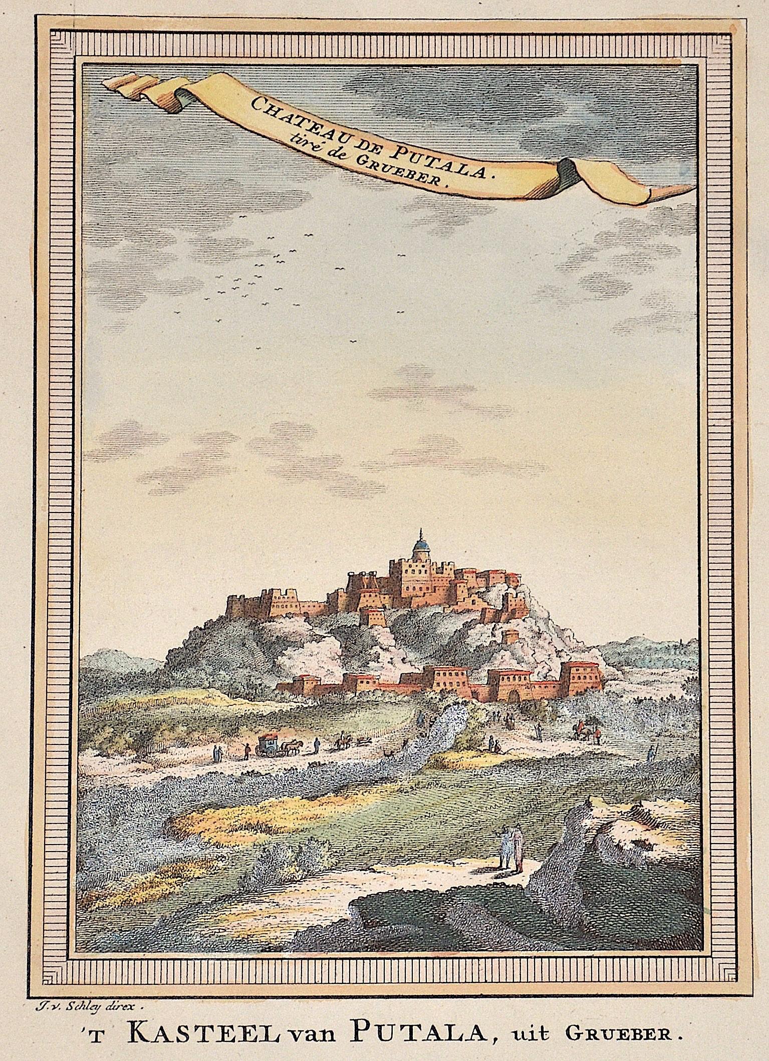 Schley, van der  Chateau de Putala. Tiré de Grueber