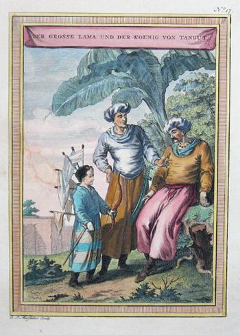 Marstaller  Der grosse Lama und der Koenig von Tangut