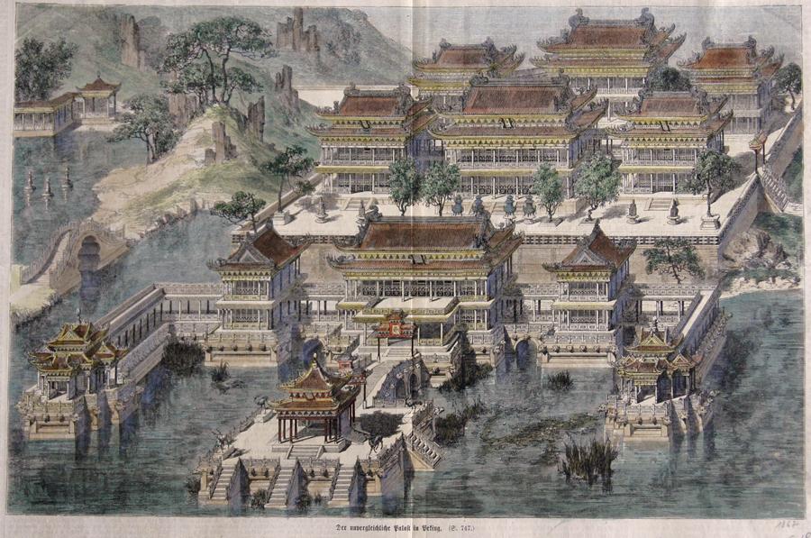 Anonymus  Der unvergleichliche Palast in Peking.