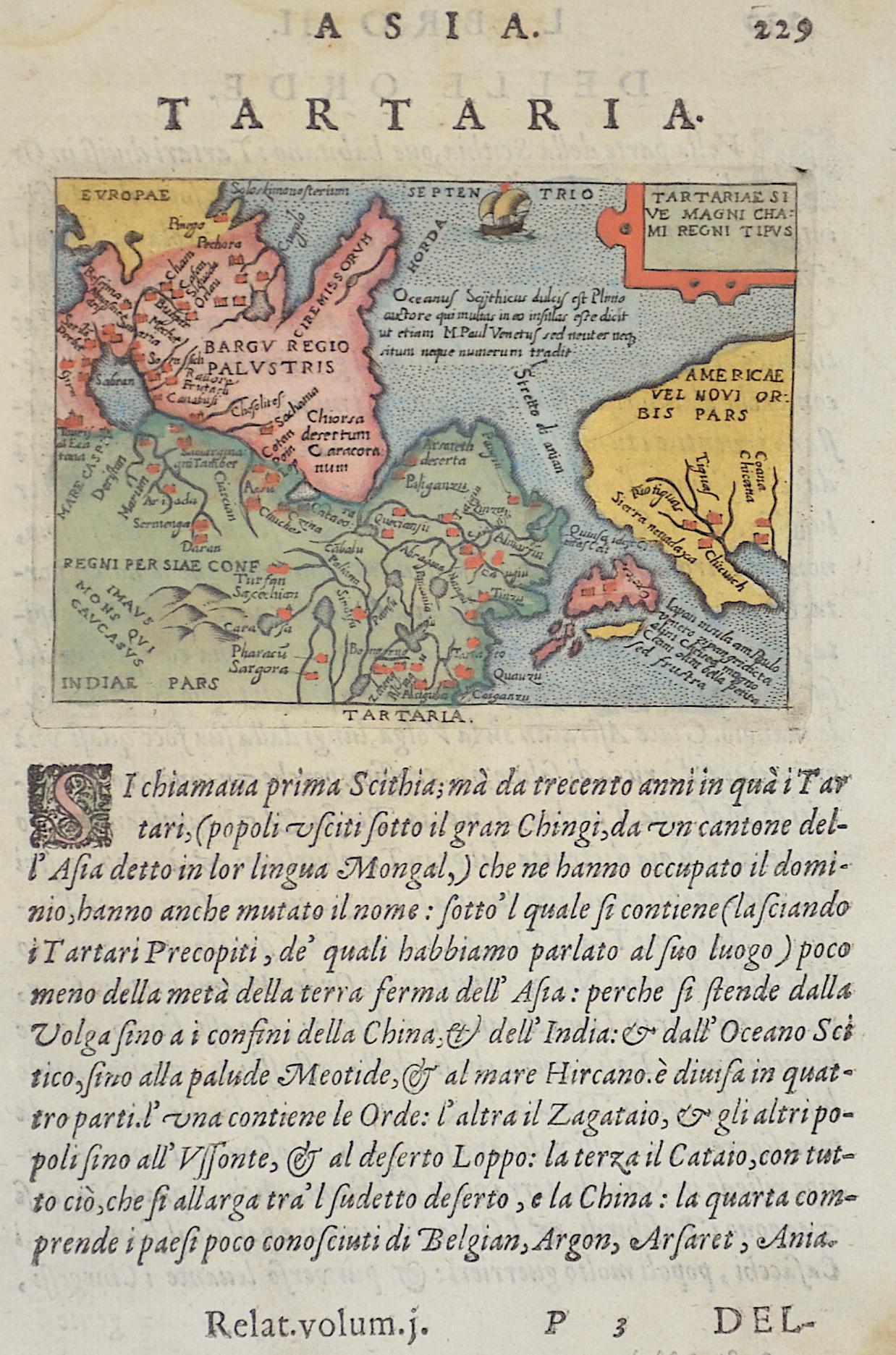 Mercator  Gran cam di Tartaria.