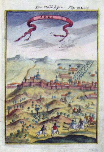 Mallet Alain Manesson Die Stadt Agra
