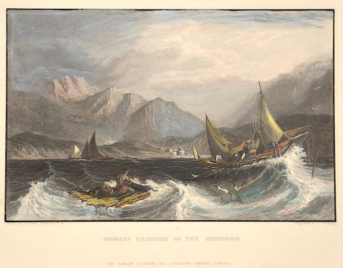 Goodall E. Bombay harbour in the Monsoon