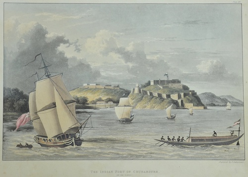 Sutherland T. The Indian Fort of Chunargurh on the Ganges