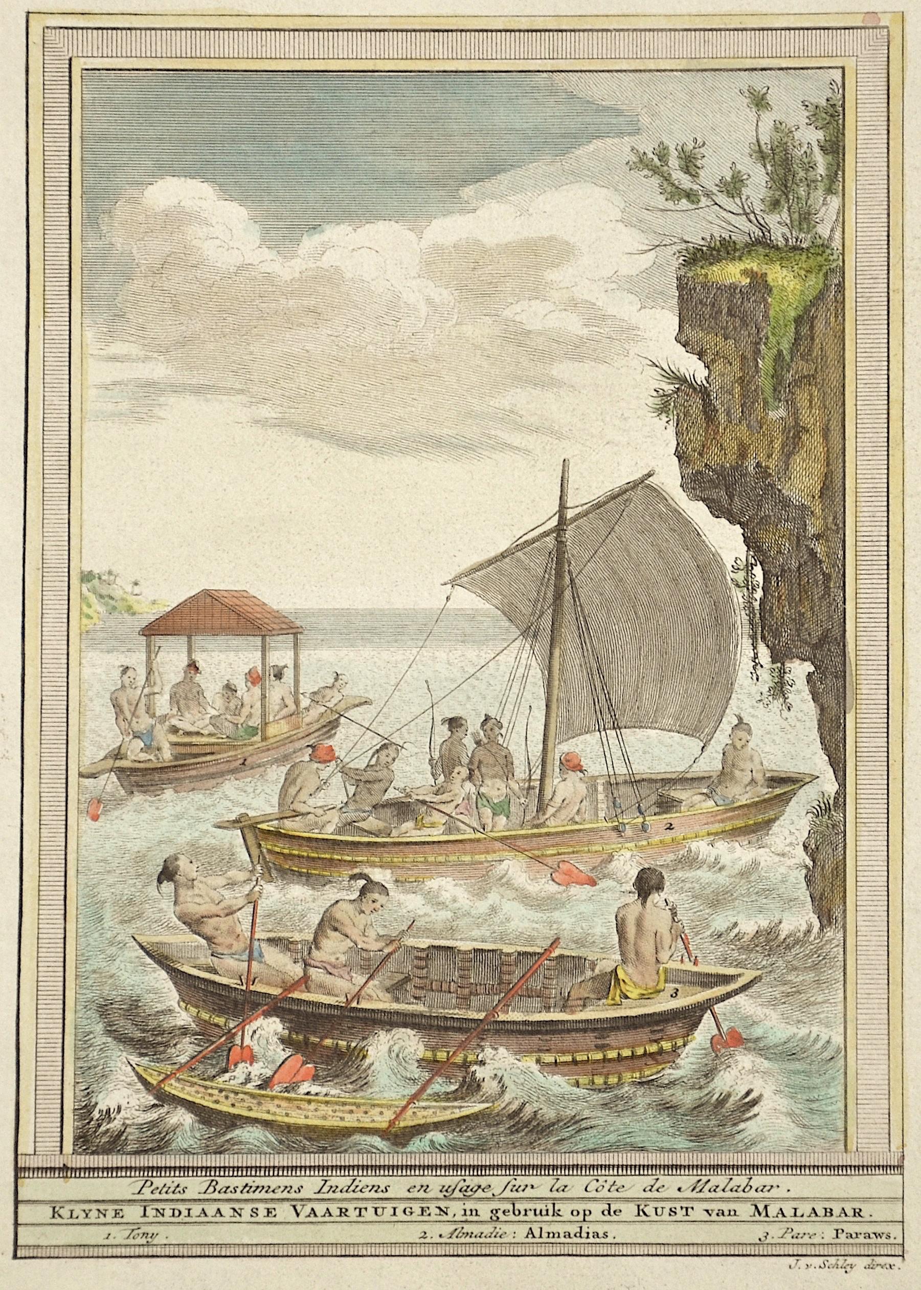 Schley, van der Jacob Petits Bastiments Indiens en usage sur la Côte de Malabar