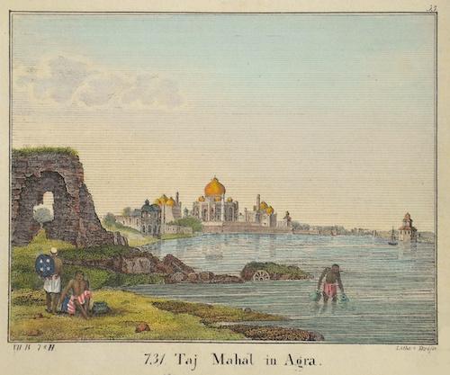 Droesse  Taj Mahal in Agra