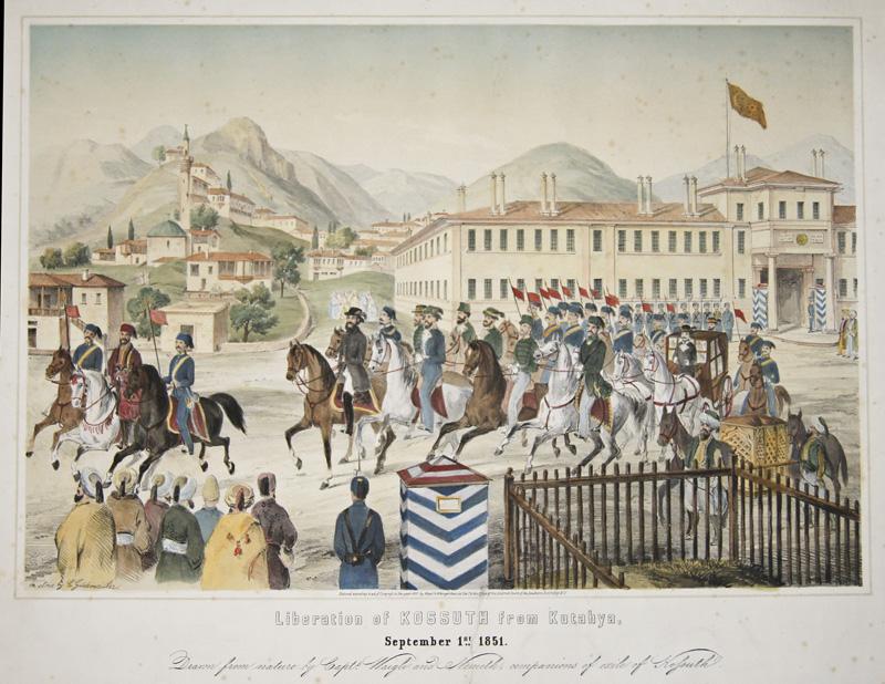 Gildemeister C. Liberation of Kossuth from Kutahya, September 1st 1851