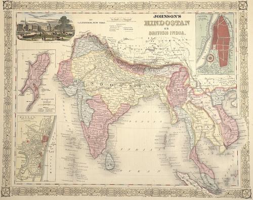 Johnson Alvin Jewitt Johnson's Hindostan or British India.
