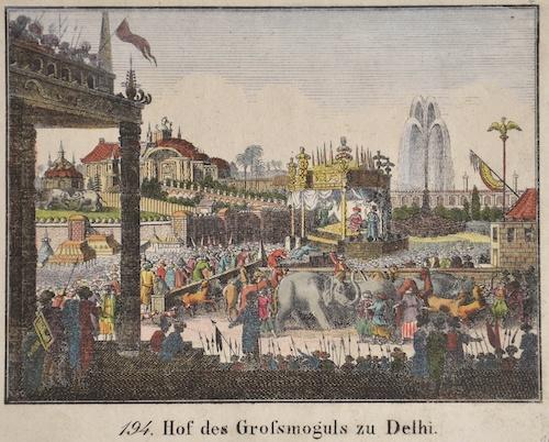 Anonymus  Hof des Grossmoguls zu Delhi.