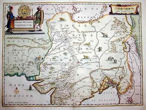 Janssonius Johann Magni Mogolis Imperium