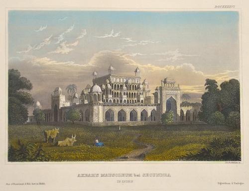 Rottmann A. Akbar´s Mausuleum bei Secundra