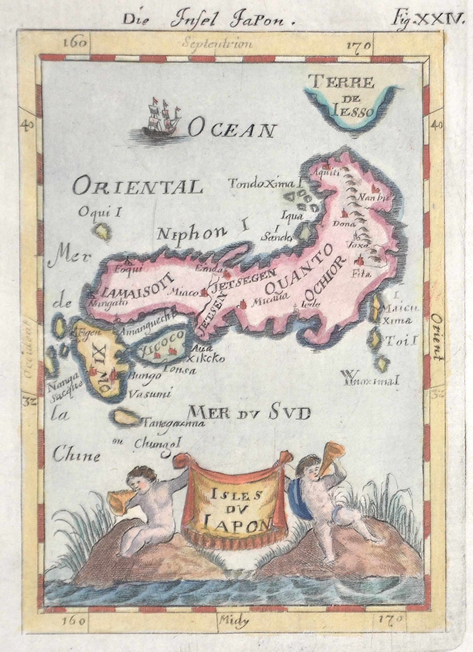 Mallet  Isles du Japon