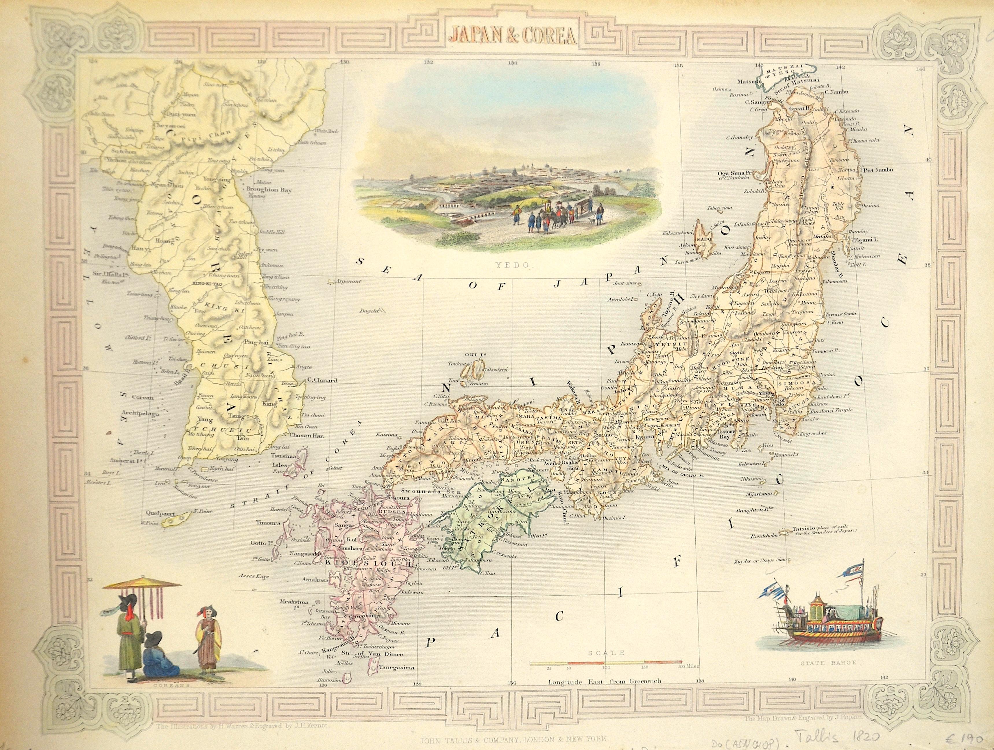 Tallis John Japan & Corea