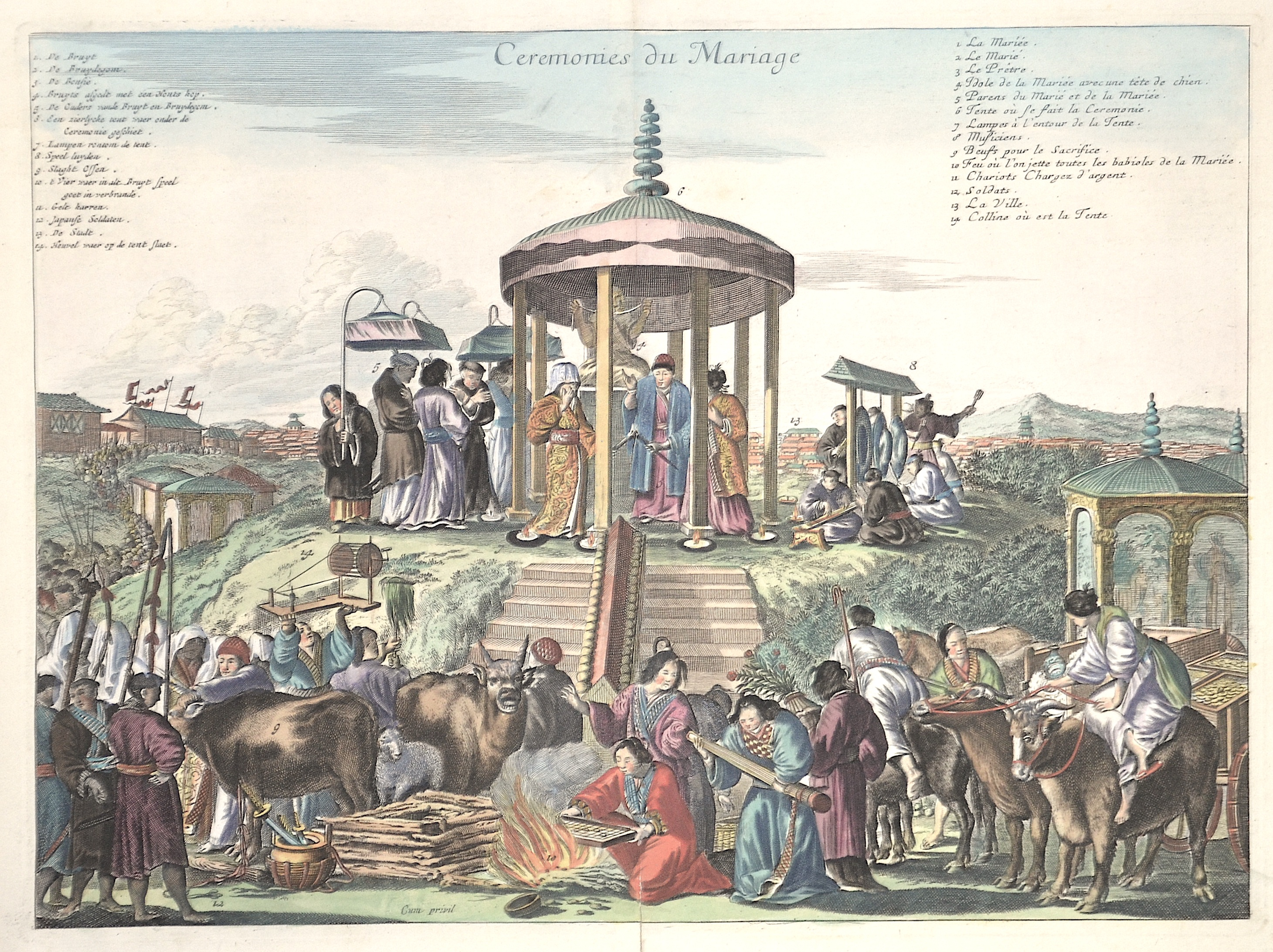 Montanus  Ceremonies du mariage