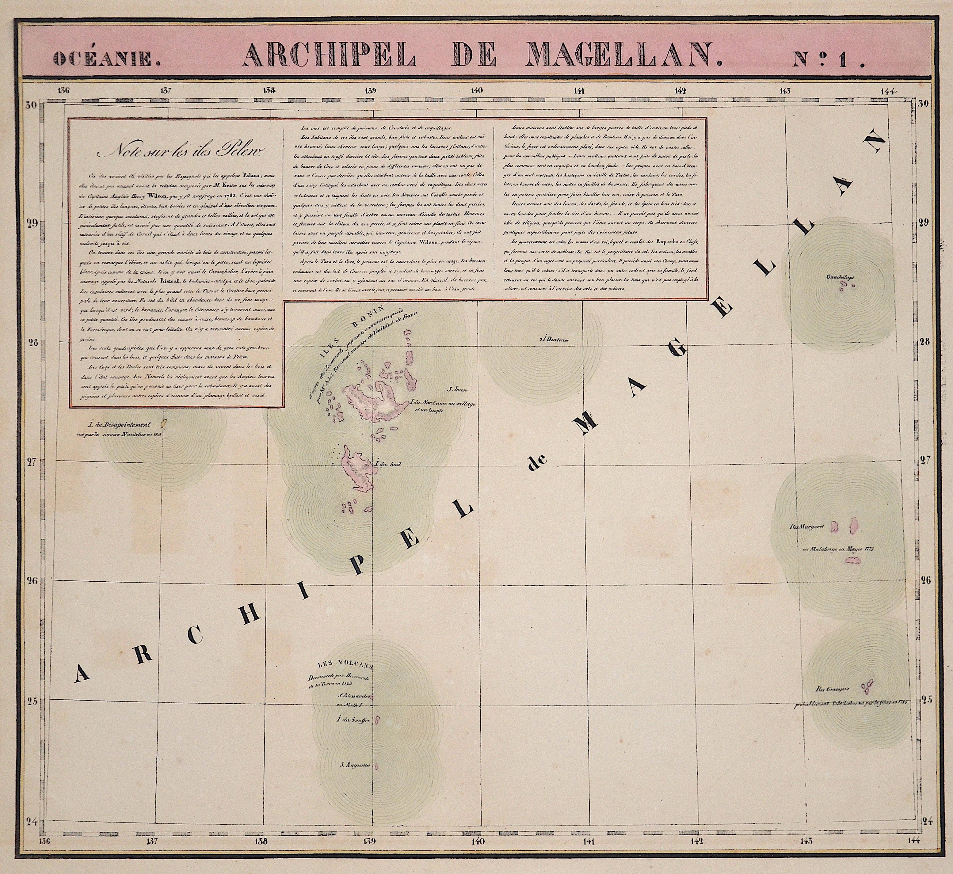 Vandermaelen  Archipel de Magellan No. 1